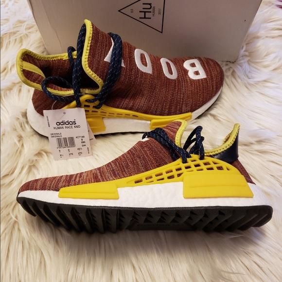 "22ec9fcdbd4e7 Adidas X Pharrell Hu NMD ""Body Earth"""